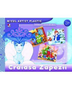 Craiasa Zapezii. Micul artist plastic. Activitati 3-5 ani