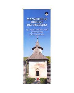 Manastiri si biserici din Romania (lb. ro+eng)