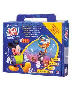 Let's Sing! 6 Carti + 6 CD-uri. Descopera limba engleza prin magia cantecelor!