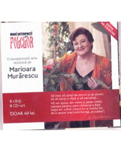 Pachet Mari interpreti de folclor (8 carti + 8 CD-uri)