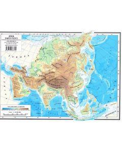 Harta Asia (fizica) + Asia (politica)