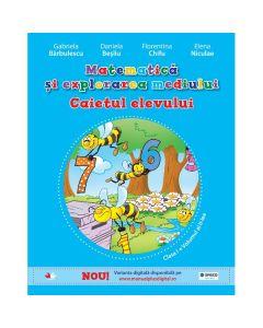 Matematica si explorarea mediului cls 1 Caiet vol.2 - Gabriela Barbulescu, Daniela Besliu