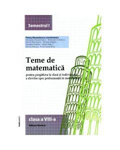2014 Teme De Matematica Cls 8 Sem. 1 - Petrus Alexandrescu