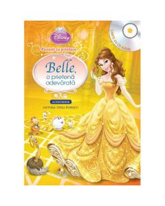 Disney - Belle, o prietena adevarata  (Carte + Cd Audio. Lectura: Stela Popescu)