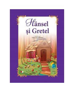Hansel si Gretel - Fratii Grimm (carte Gigant)