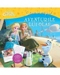 Aventurile lui Olaf - Regatul de gheata - Citesc si ma joc!