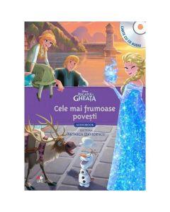 Regatul de gheata - Cele mai frumoase povesti - Carte + CD Lectura Monica Davidescu