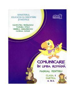 Comunicare in limba romana cls I partea II + Cd - Tudora Pitila, Cleopatra Mihailescu