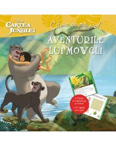 Aventurile lui Mowgli. Cartea junglei - Citesc si ma joc!