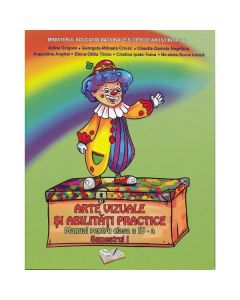 Arte vizuale si abilitati practice cls 4 sem.1 - Adina Grigore