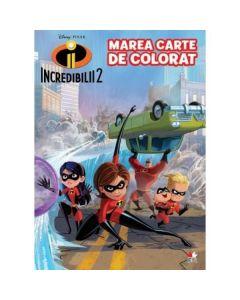 Disney. Incredibilii 2 - Marea carte de colorat