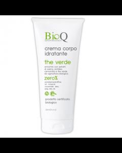 Crema Bio de corp actiune hidratanta BioQ extras vegetal de Ceai Verde