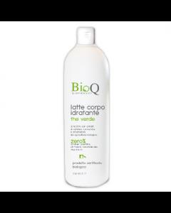 Lapte de corp bio efect hidratant BioQ extract vegetal Ceai Verde
