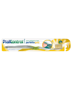 Periuta antibacteriana PlaKKontrol cu Aur coloidal