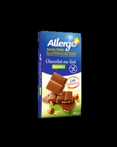 Ciocolata cu alune f.lactoza 100g Allergo fara gluten & lactoza