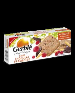 Biscuiti Ciocolata-Zmeura 140g Gerble Expert Dietetic