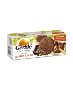 Biscuiti Quinoa Cacao 132g Gerble