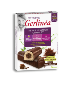 Gerlinea Batoane Ciocolata Inima Cocos 372g