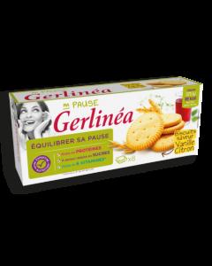Gerlinea Biscuiti Dietetici Lamaie-Vanilie 156g