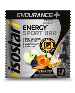 Endurance + High Carb Bar Isostar 3x40g
