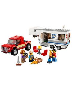 LEGO® City Great Vehicles Camioneta si rulota 60182