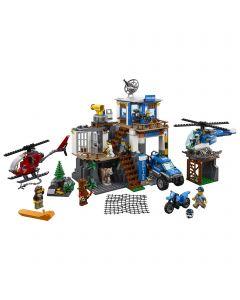 LEGO® City Police Cartierul general al politiei montane 60174