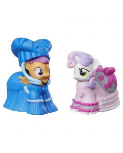Set Figurine My Little Pony prietenia magica Scotaloo & Sweetie Belle