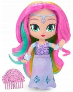 Papusa Shimmer and Shine, Imma in rochie mov cu pieptene, Fisher-Price
