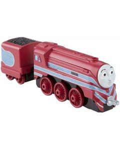 Trenulet locomotiva metalica Caitlin cu vagon - Thomas&Friends Take N Play