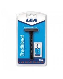 Aparat de ras Safety Razor LEA Traditional cu 10 lame