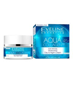 Crema zi si noapte Eveline Aqua Collagen 45+ 50 ml