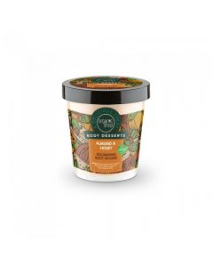 Scrub de corp Organic Shop Body Desserts Almond&Honey Milk 450 ml