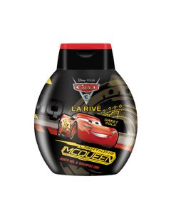 Gel de dus si sampon 2 in 1 Cars 250 ml