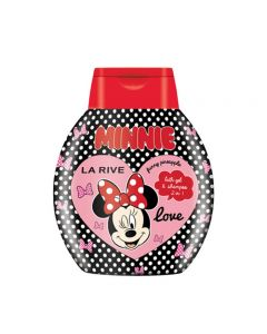 Gel de dus si sampon 2 in 1 Minnie Mouse 250 ml