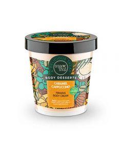 Crema de corp pentru fermitate Organic Shop Body Dessert Caramel Cappuccino 450 ml