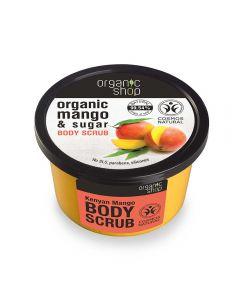Scrub de corp Organic Shop Kenyan Mango 250 ml