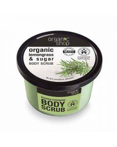 Scrub de corp Organic Shop Provence Lemongrass 250 ml