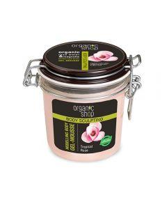 Gel-spuma de corp cu efect de modelare Organic Shop Tropical Rose 350 ml