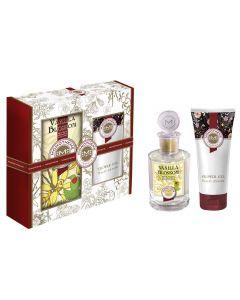 Set Monotheme Vanilla Blossom parfum si gel de dus