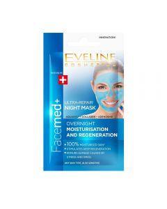 Masca de noapte Eveline Facemed Ultra Repair 7 ml
