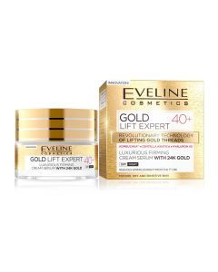 Crema de zi si noapte Eveline 24K Gold Lift Expert 40+ 50 ml