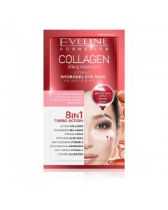 Plasturi hidrogel pentru ochi Eveline Collagen 8in1