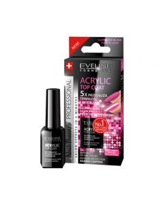 Tratament unghii Eveline Nail Therapy Acrylic Top Coat 12ml