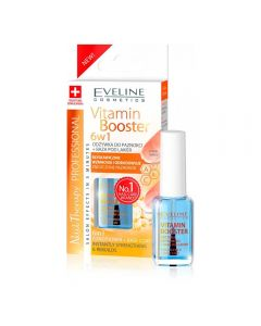 Tratament unghii Eveline Nail Therapy Conditioner Vitamin Booster 6in1 12ml
