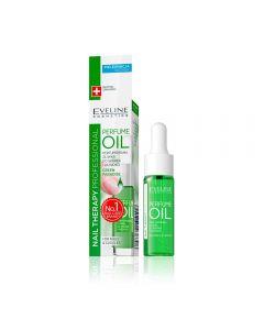 Ulei parfumat pentru unghii si cuticule Eveline Nail Therapy Green Paradise 12 ml