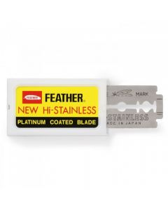 Rezerve lame de ras Feather set 10 buc.