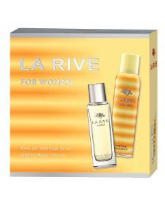 Set cadou La Rive woman, parfum + deo