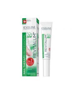 Tratament unghii Eveline Revitalum Serum cu Aloe 8 ml