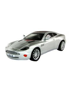 Macheta auto de colectie, Aston Martin V12 Vanquish, Minimodel metal - plastic, gri, Scara 1:43