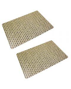 Napron-placemats 2 pe set, Maxx, crem, 40 x 30 cm
